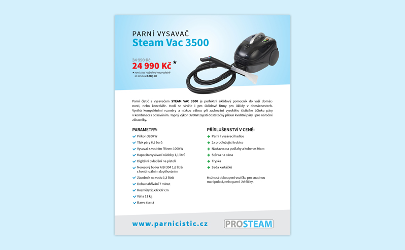 Steam Vac 3500